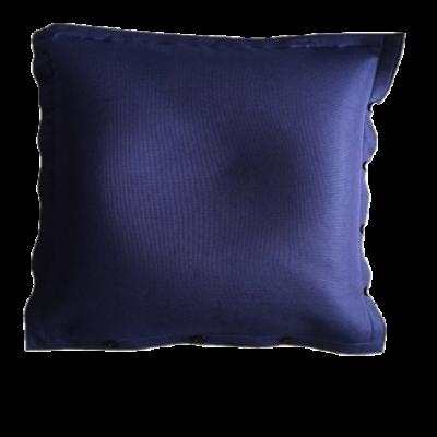Sitzsack komplett 100 x 100 cm   Blau