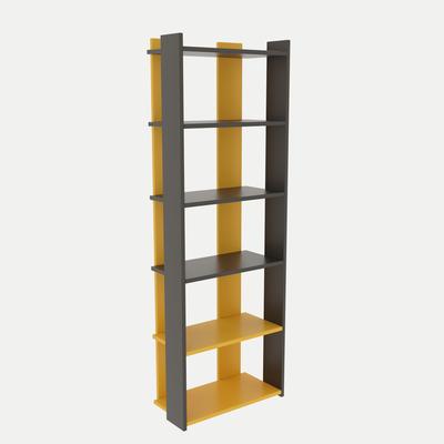 Bookshelf Sakran I Anthracite & Yellow