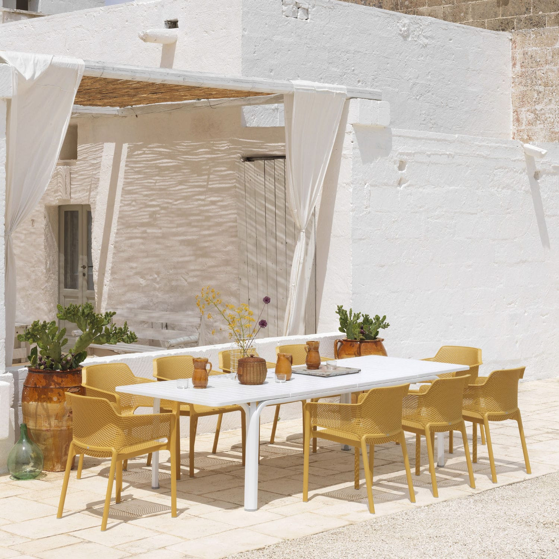 Tisch Erweiterbar Alloro 210 | Weiß