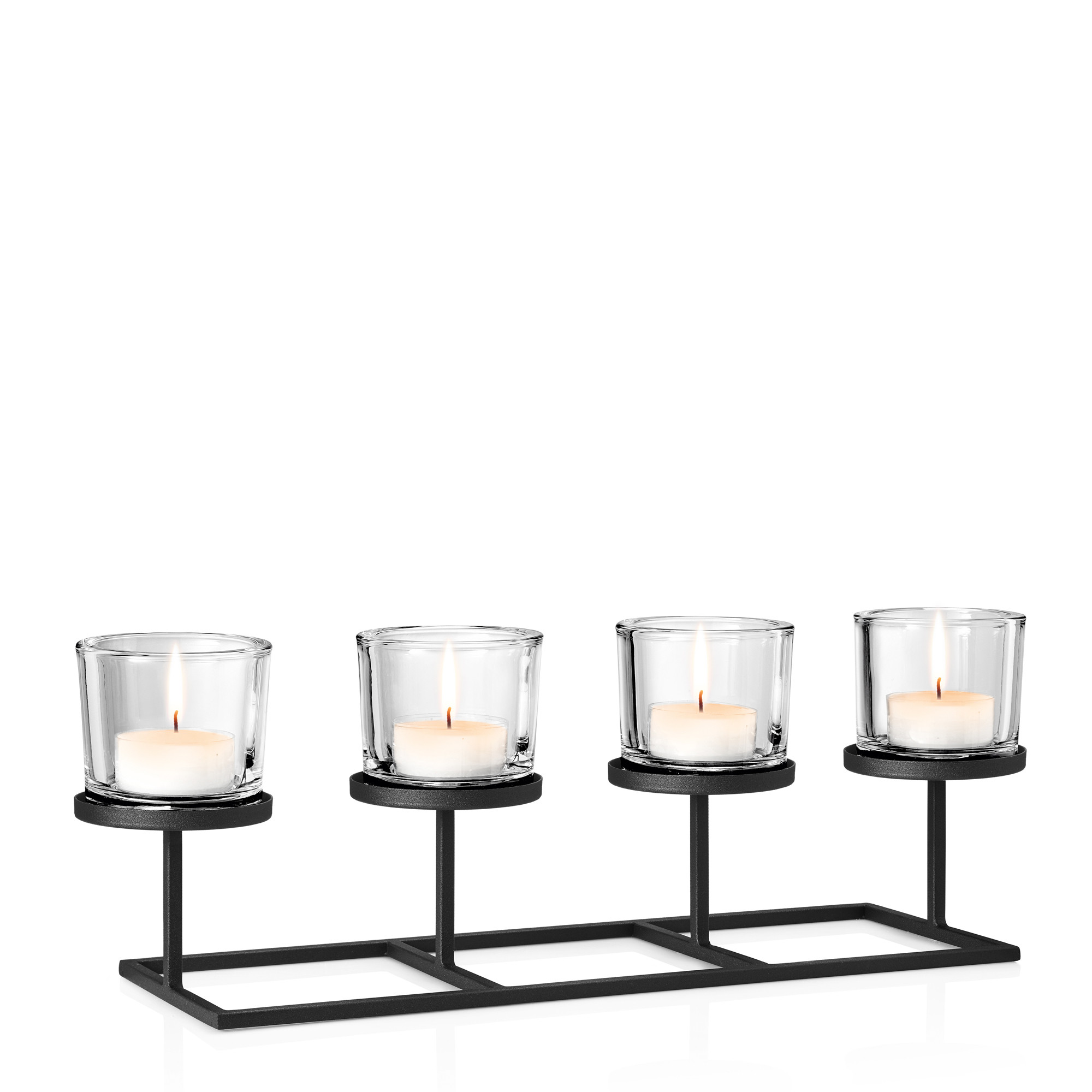 Kerzenleuchter Nero | 32 cm