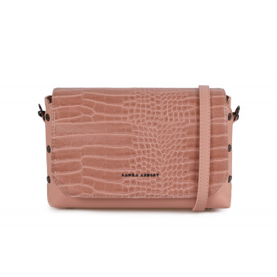 Handtasche Cathcart Croco | Rose