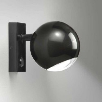 Wandlampe Dob | Schwarz
