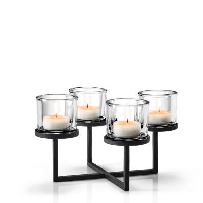 Kerzenleuchter Nero | 33 cm