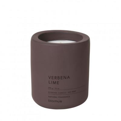 Duftkerze groß | Eisenkraut Limette | Violett