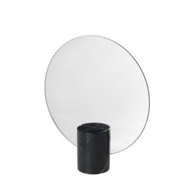 Tischspiegel Marmor Pesa | Schwarz