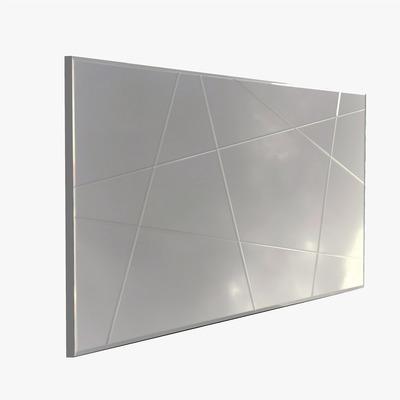Dekorativer Spiegel A331Y   Silber