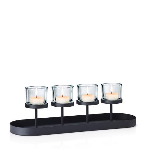 Kerzenleuchter Nero | 56 cm