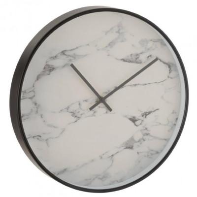 Uhr Marmor   Schwarz