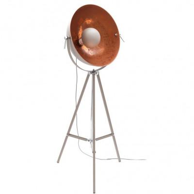Floor Lamp Cement Sun | Cement & Copper