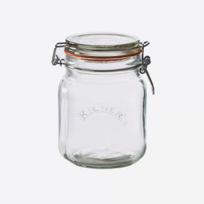 Quadratische Glasklemme oben Jar-1 L