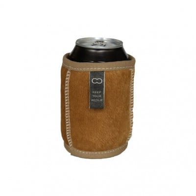 Koozie Durable Can Coolers Of Wool   Camel