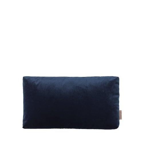 Kussensloop Voga 50 x 30 cm   Velvet Midnight Blue