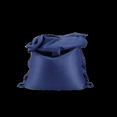 Sitzsack komplett 175 x 125 cm   Blau