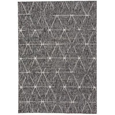 Carpet 166 Anthracite I Multicolour 160x230 cm