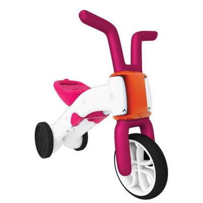 Bunzi 2-in-1 schrittweise Balance Fahrrad Rosa