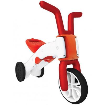 Bunzi 2-in-1 graduelle Balance Fahrrad Rot