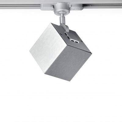 Deckenlampe Dau | Gebürstetes Aluminium