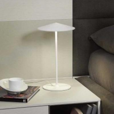 Tischlampe Ø 20 cm | Weiß