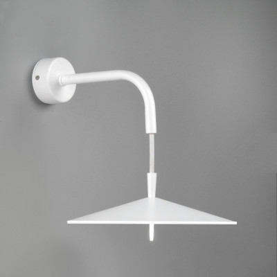 Wandlampe Ø 20 cm | Weiß