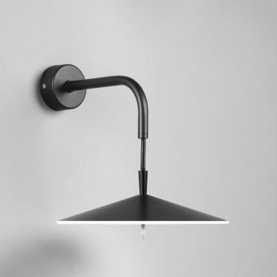 Wandlampe Ø 20 cm | Schwarz