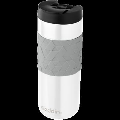 Drinking Bottle Leak-Lock & Easy-Grip 470 ml   White