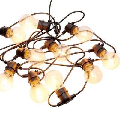 String Lights Tobias Supplement Set 10 Lamps | Clear