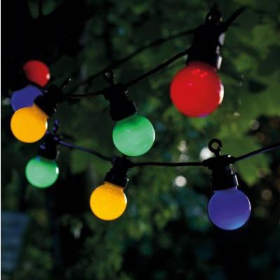 String Lights Lucas Start Set 10 Lamps | Multicolour