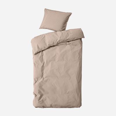 Einzelner Bettbezug mit Kopfkissenbezug 60 x 63 Dagny   Stroh & Braun