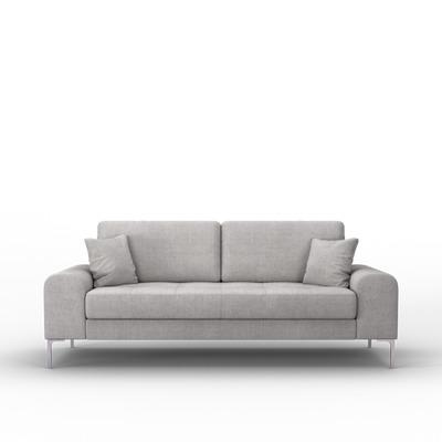 3-Sitzer-Sofa Rime | Hellgrau