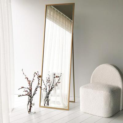 Standspiegel / Wandspiegel Cool | Gold