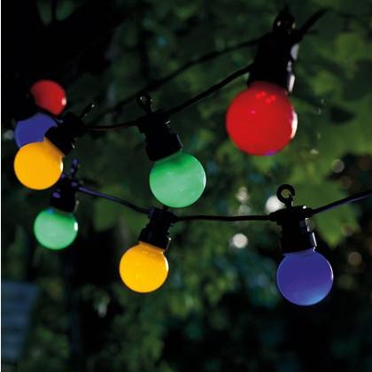 String Lights Lucas Start Set 10 Lampen | Mehrfarbig