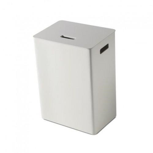 Wooden Laundry Holder | Traffic White