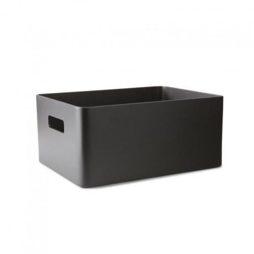 Arigatoe Wooden Storage Unit | Graphite Black