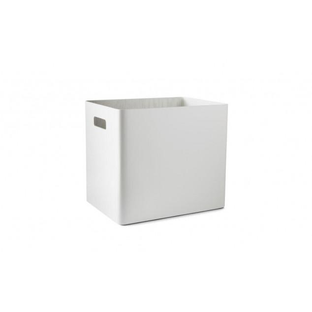 Arigatoe Wooden Storage Unit | Traffic White