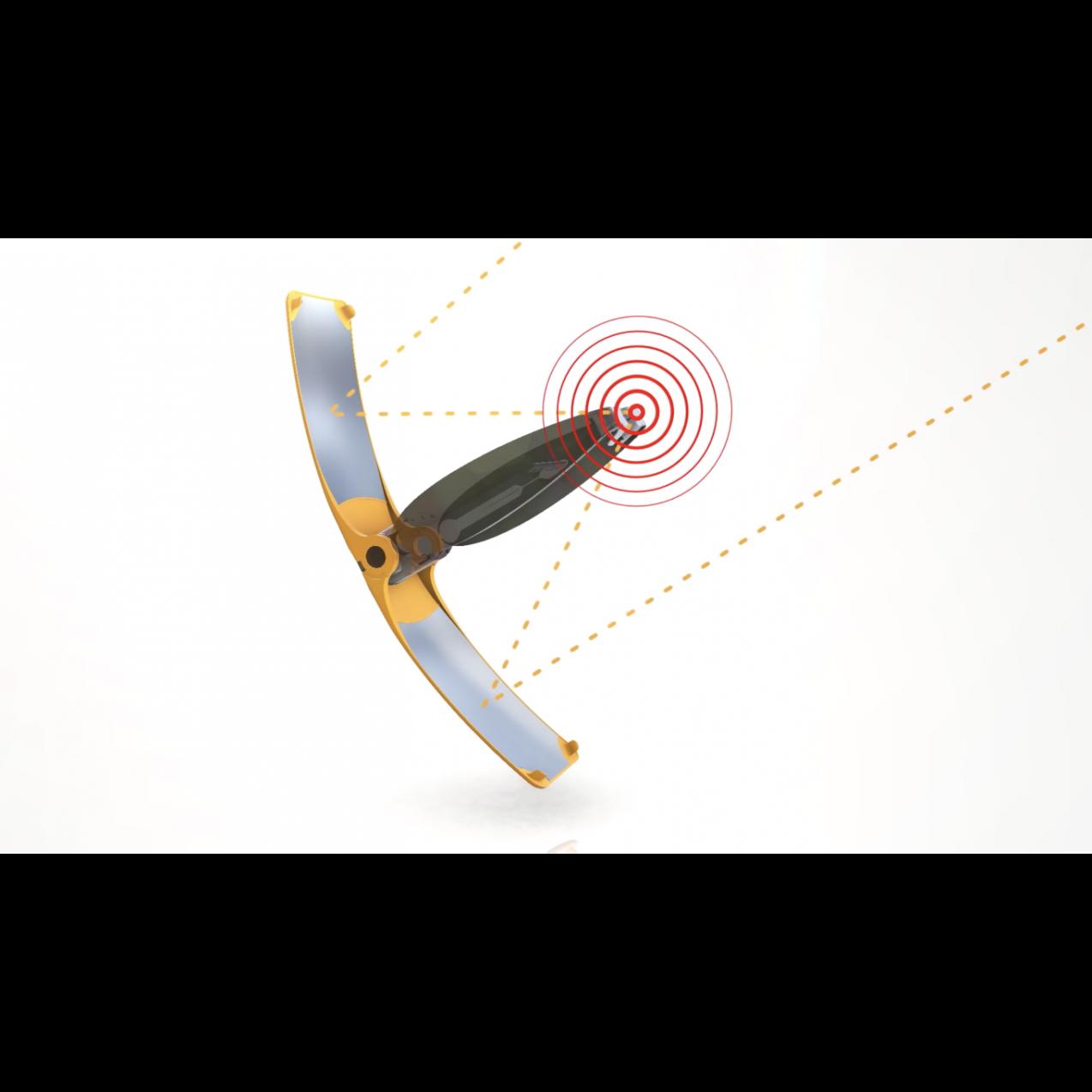 Solar-Feuerstarter Suncase Gear | Schwarz