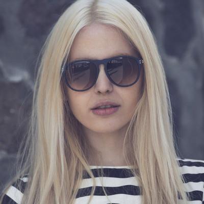Balto Sonnenbrille | Mattblau