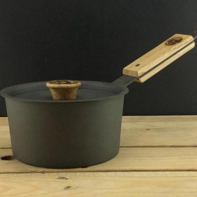 Eisen-Kochtopf mit Deckel | 15 cm