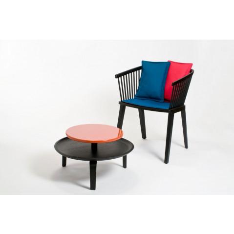 Small Secreto Coffee Table   Natural/Blue
