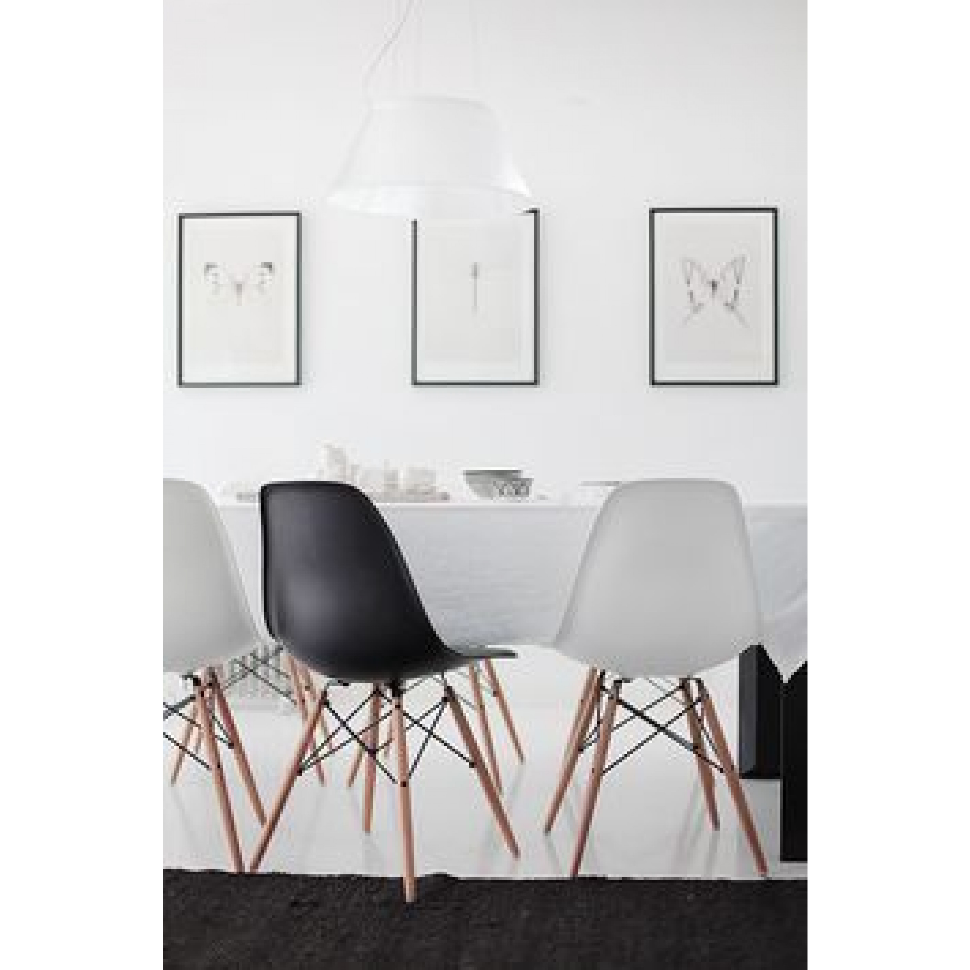 Stuhl Manda | Grau