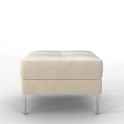 Pouf Rime | Weiß