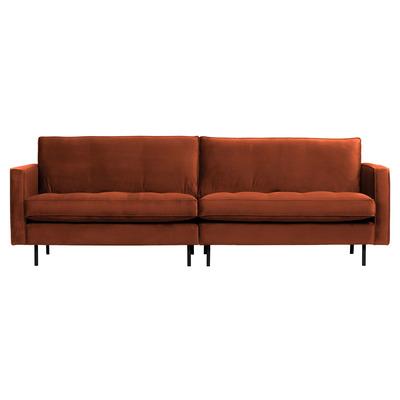 3 Seater Sofa Rodeo Classic Velvet | Rust