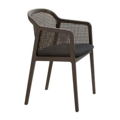 Vienna Little Armchair | Walnut/Black