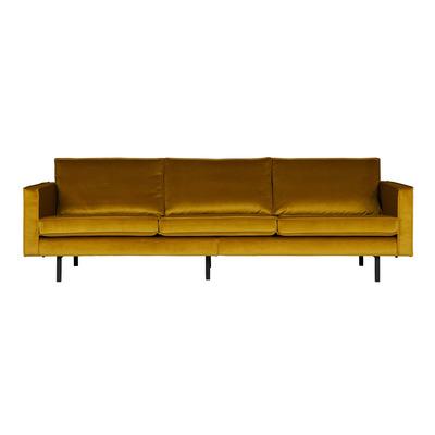3 Seater Sofa Rodeo Velvet | Ochre