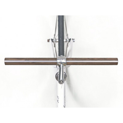 "Walnut-Aluminum Wood Handlebar ""LEUCORYX"""