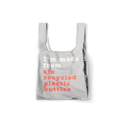 Wiederverwendbare Tasche Recycle   Grau
