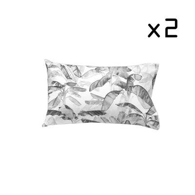 2er Set Kissenbezug 50x75 cm I Yelitza Schwarz&Weiß