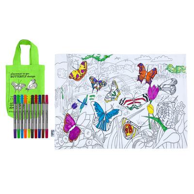 Platzset To Go | Schmetterling