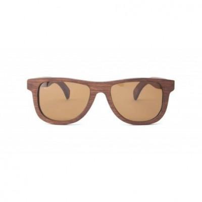 24,6g Wooden Sunglasses   Cognac