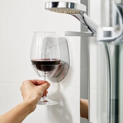 Wine Glass Holder SIPSKI | Grey Marble