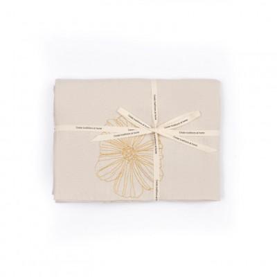 Tischdecke Magnolia | Beige